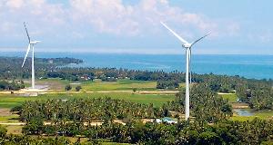 フィリピンにおける風力発電事業の取り組み