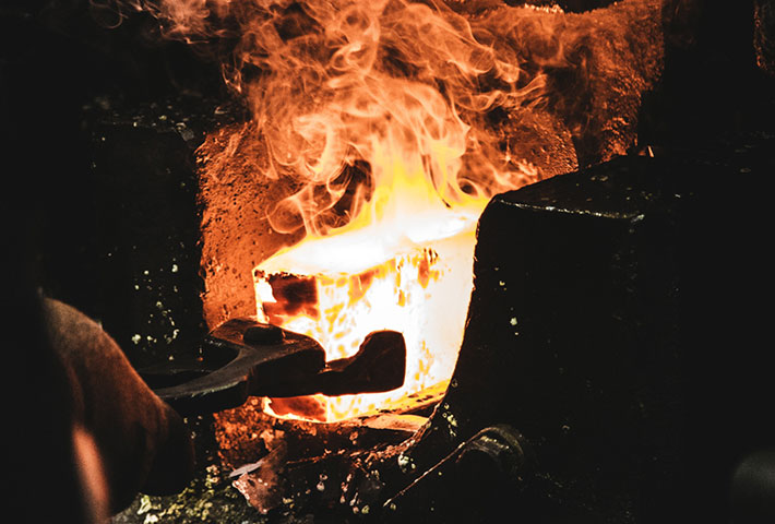 Steel, Materials & Plant