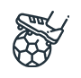 障がい者スポーツ「アンプティサッカー」支援活動